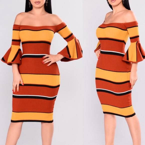 17c60d8b05fd Fashion Nova Dresses   Skirts - Fashion nova Atlanta striped dress